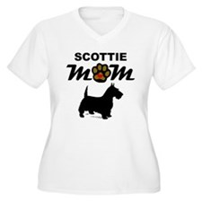 Scottie Mom Plus Size T-Shirt