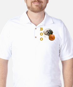 Lhasa Apso Boo Golf Shirt