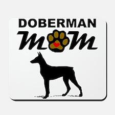 Doberman Mom Mousepad