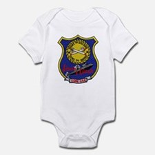 USS LEWIS AND CLARK Infant Bodysuit