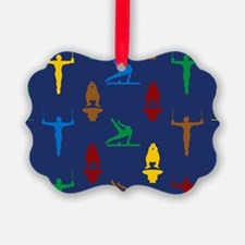Mens Gymnastics Ornament