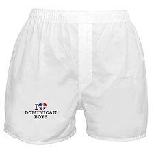 I Love Dominican Boys Boxer Shorts