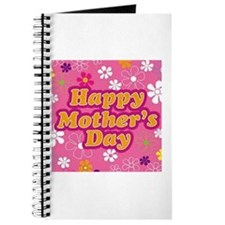 Happy Mothers Day Pink Journal