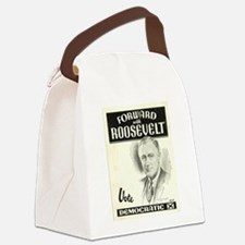 Cool Fdr Canvas Lunch Bag
