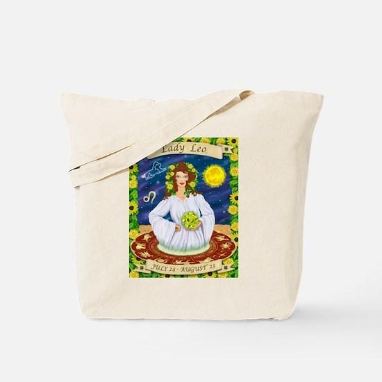 Lady Leo Tote Bag