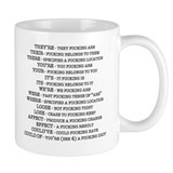 Grammar Small Mugs (11 oz)