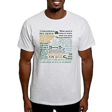 Jesse Pinkman Quotes T-Shirt