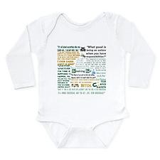 Jesse Pinkman Quotes Long Sleeve Infant Bodysuit