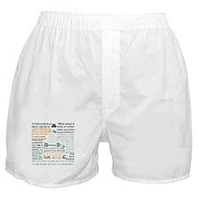 Jesse Pinkman Quotes Boxer Shorts