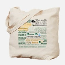 Jesse Pinkman Quotes Tote Bag