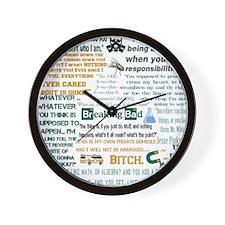 Jesse Pinkman Quotes Wall Clock