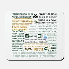 Jesse Pinkman Quotes Mousepad