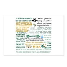 Jesse Pinkman Quotes Postcards (Package of 8)