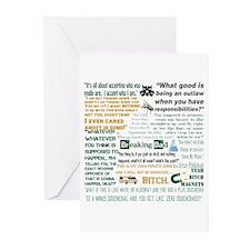 Jesse Pinkman Quotes Greeting Cards (Pk of 10)