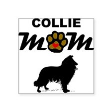 Collie Mom Sticker