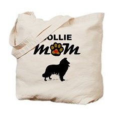 Collie Mom Tote Bag