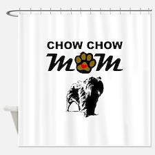 Chow Chow Mom Shower Curtain