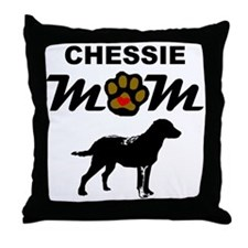 Chessie Mom Throw Pillow