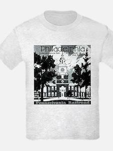 Visit Philadelphia on the PRR T-Shirt