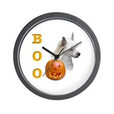 Powder Crested Boo Wall Clock