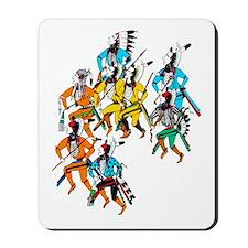 Shoshone Wolf Dancers Mousepad
