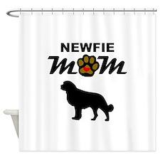 Newfie Mom Shower Curtain