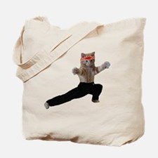 Ninja Kitten Tote Bag