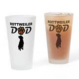 Rottweiler Pint Glasses