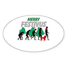 Merry Festivus Decal