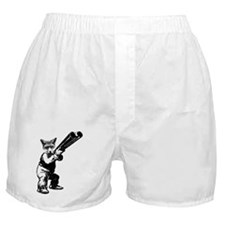 Cute Fox hunting Boxer Shorts