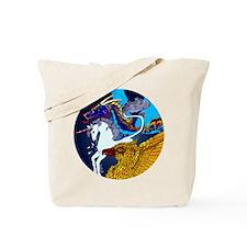 Defenders: Blue Tote Bag