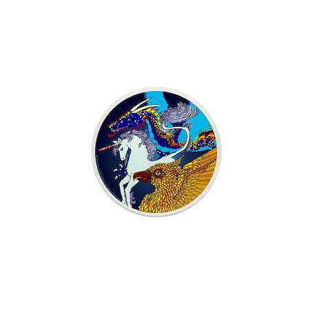 Defenders: Blue Mini Button