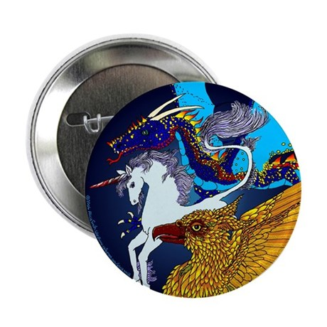 "Defenders: Blue 2.25"" Button (100 pack)"