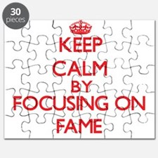 Keep Calm by focusing on Fame Puzzle