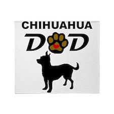 Chihuahua Dad Throw Blanket