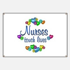 Nurses Touch Lives Banner