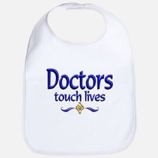 Doctors Touch Lives Bib