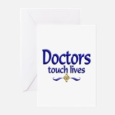 Doctors Touch Lives Greeting Cards (Pk of 10)