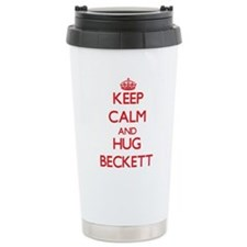 Cute Beckett Travel Mug