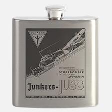 Unique Bombers Flask