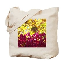 Red and Yellow leaves Tote Bag