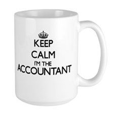 Keep calm I'm the Accountant Mugs
