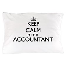 Keep calm I'm the Accountant Pillow Case
