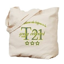 Funny Intellectual disability Tote Bag