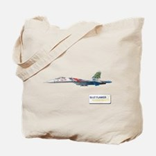 Su-27 Russian Knights Tote Bag