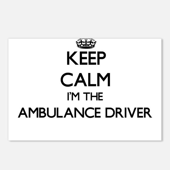 Keep calm I'm the Ambulan Postcards (Package of 8)