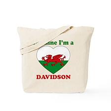 Davidson, Valentine's Day Tote Bag