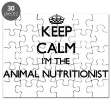 Keep calm I'm the Animal Nutritionist Puzzle