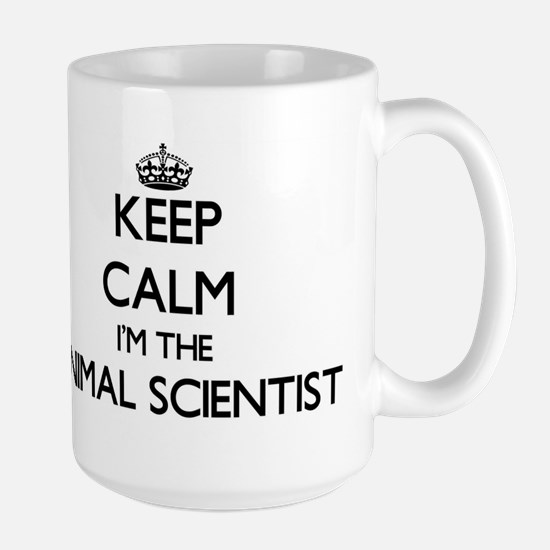 Keep calm I'm the Animal Scientist Mugs