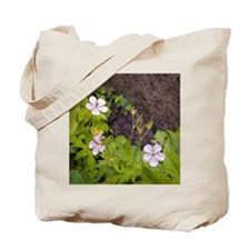 Woodland Flowers Tote Bag